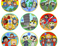 Brownies, Guides & Rainbows Badges