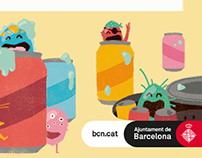 Banners animados Ajuntament de BCN