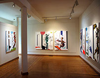 Sans Serif - 2014/16 paintings