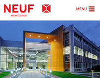 Neuf architect(e)s - website