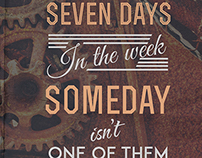 Seven Days In The Week-TYPO