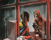 N'Existe Pas - Bruce Sterling short story illustrations