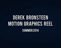 Motion Graphics Reel - Summer 2014