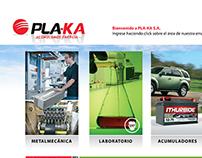 Sitio web Pla-ka para Berdasco Estudio
