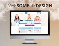 Redesign webovej stránky - creditone