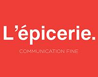 L'épicerie Communication