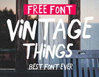 Close Free hand Font