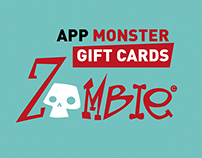App Monster Gift Cards ZOMBIE