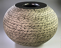 Spirit Sphere Ceramic Sculptures