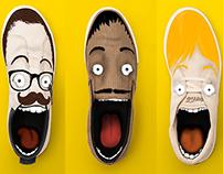 Ilustrações Coca-Cola Shoes Dia dos Pais
