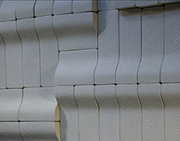 Curve Modular Ceramic Wall Series