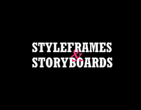 Styleframes and Storyboards Collections