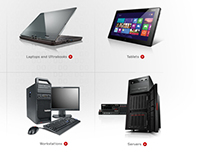 Lenovo - interactive projects