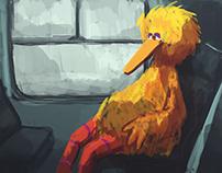 bird rider ..