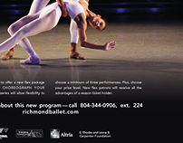 Templates for Ballet Ad Campaign