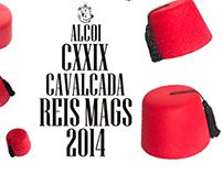 Cartel de la Cabalgata de Reyes Magos 2014