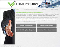 Loyalty Curve Consulting Website Design