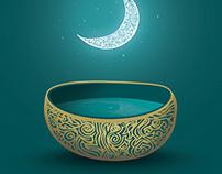 Eid Al Ramadan Postal Card