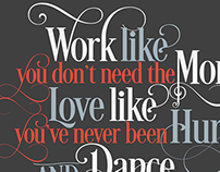 Typographic Quotes...