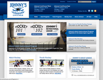 Johnny's Icehouse - Site Redesign
