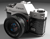 Canon AE-1 (Rhinoceros)