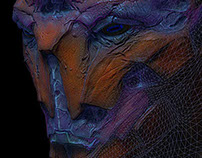 InGame Alien Portrait