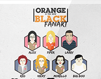 Orange is the new black // Fanart
