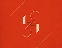 1234 - an ambigram