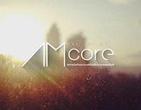 AMcore Typographic Logo