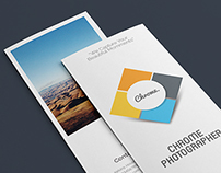 Photographers Tri-Fold Brochure