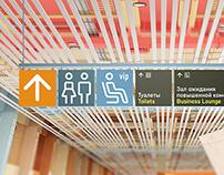 Navigational elements Koltsovo Airport