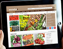 Weneba Seeds - e-commerce solution & corporate identity
