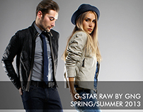 G-Star RAW lookbook SS13 by GNG