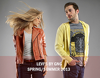 Levi's Lookbook SS13 by GNG