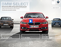BMW SELECT - Microsite