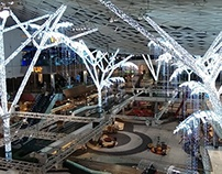 Westfield White City: Christmas Decorations 2013