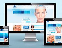 Corporación Dermoestética - Responsive Website