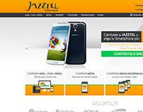 Jazztel - Website/Landing/Campaign