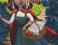Little Red Ridinghood. Children's Book Illustration