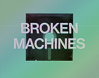 Sunset Pig - Broken Machines Album Cover