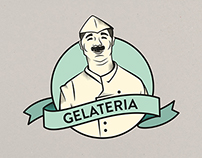 GELATERIA identity