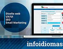 Rediseño de infoidiomas.com