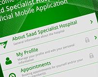 Mobile App: Saad Specialist Hospital