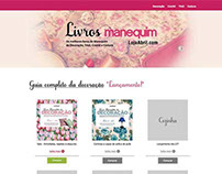 Site - Livros Manequim