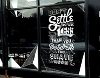 Slick's Barbershop Window Mural vol.02