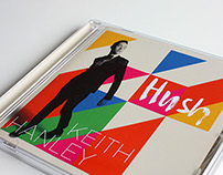Keith Hanley 'Hush' CD sleeve