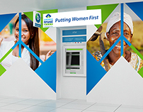 Finance Trust Bank Indoor & Outdoor Branding