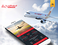 TUNISAIR App IOS7