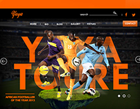 Yaya Toure Web Development