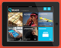 Qreads App Concept
